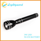 GWS-AM Manufacturer low price rechargeable long range high power waterproof security aluminum alloy us army torch light