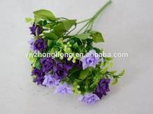 artificial grass with flower , artificial flower for dress , artificial flower tree for decoration