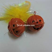 halloween pumpkin shape hanging bell