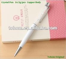 Promotional new style wholesale stylus crystal pen set