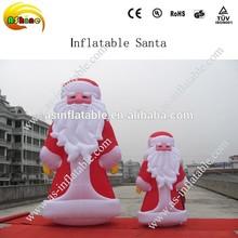 2014 vivid design oxford cloth christmas cartoon inflatable cartoon