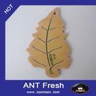 lovely maple leaf shaped hanging paper car air freshener