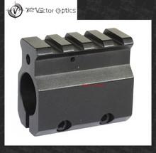 "Vector Optics Adjustable Gas Block Single 20mm Picatinny Rail Mounting .233 Rem LR-308 Barrel 0.75"" Inside Diameter Aluminum"