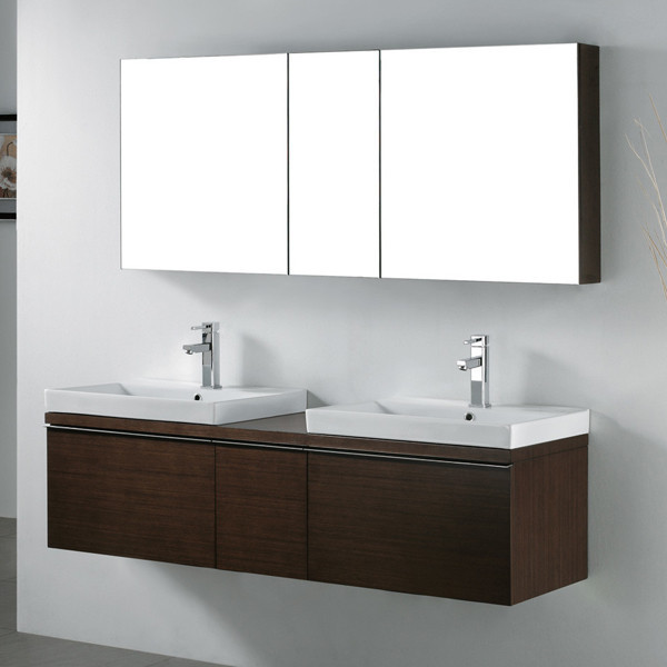 Wall Mounte Modern Smart Large Double Sink Bathroom Vanity Buy Double Sink