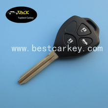 High quality 315 Mhz 4D67 Chip remote control key for toyota corolla remote key 3 buttons car key remote control toyota