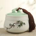 Tg-409j236-wg-w-1 jarra de vela 1208 com certificado CE jam jar embalagem