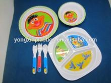 round plastic fish bowl Children's tableware