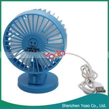 New design Two-leaf Cartoon Mini Usb Fan
