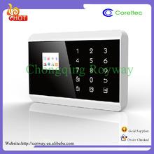Touch Screen Fashion Multi-Language Mobile Call Gsm Alarm stem Manual