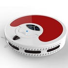 Featured Multifunctional Robot Vacuum Cleaner with automatic recharge, UV germicidal and mopping funcion (D2 Red)