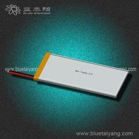 Customized lipo battery pack for e-bike 403382 1080mAh
