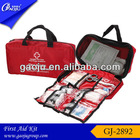 Professional emergency fashion colorful multi-function first-aid kit