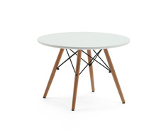 small size for children MDF leisure round eames table TB-13
