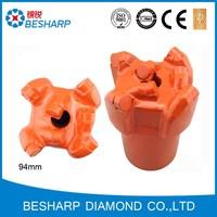 Diamond PDC bit for coalbed methane
