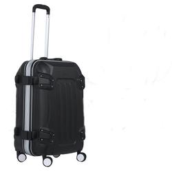 compass bag cartoon vintage luggage with wheel