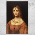 Moderne personnalisé femme portrait peinture à l'huile sur toile