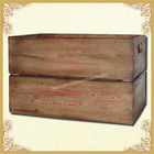 Simple style wooden trunk retro