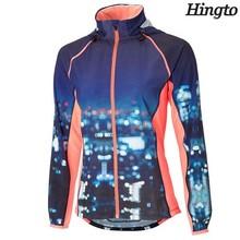 Wholesale new design quality sublimation running jacket