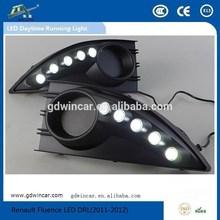 5V Flexible Waterproof LED DRL Top Quality Led Car DRL for Renault Fluence LED Daytime Running Lights(2011-2012)