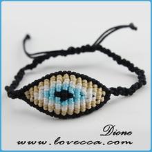 Turkish charm evil eye beads bracelet for children evil eye jewelry bead bracelet
