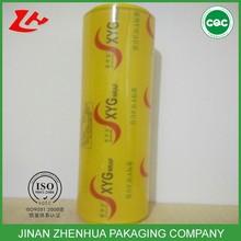 high quality transparent pvc cling film food wrap plastic packaging film wrap plastic film jumbo roll
