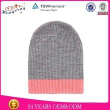 2014 new style wholesale 3d embroidery logo custom winter hat crochet pumpkin beanie hat