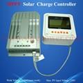 Nuevo diseño del regulador solar 12v 20a, de tensión 12v regulador, mppt regulador con pantalla lcd