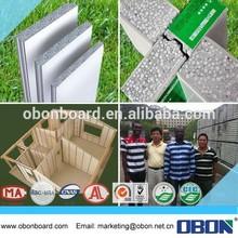 la construction du mur étanche obon matériel partition pour la construction moderne de la technologie
