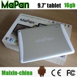 "9.7"" dual sim phone table pc / big screen mobile phone/mapan cheapest tablet pc with sim slot"