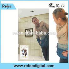 Refee Motion Sensor,Advertising display 55 Inch advertising magic mirror wifi