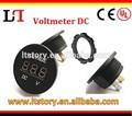 цифровая панель dc12v светодиодный красный вольтметр