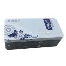 tin glasses packing box case
