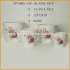 indoor flower pots decorative planter pots ceramic flower pots XH14605 A5