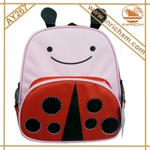 2014 New Style School Bag Cheap 600D Animal Kids Backpack Bag