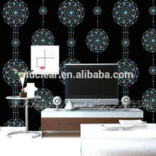 Printing Ink vinyl Wallpaper Living Room / Fire Retardant Wallpaper