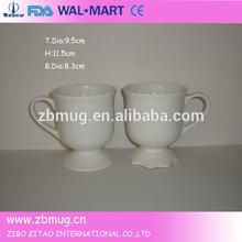 snowman coffee mug ceramic dollar store mug with base