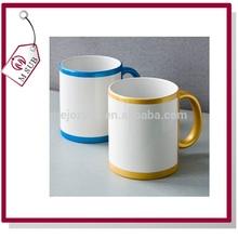 Hot sell! CE / EU,CIQ,EEC,FDA,LFGB,SGS Certification 11oz blank ceramic sublimation blank mug