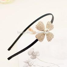 fashion shining four-leaf clover headband