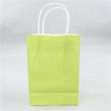 Custom brand logo silver glitter paper bag