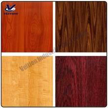 Le grain du bois de vinyle films,/auto adhésif papier décoratif pour meubles