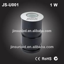 Water flood light outdoor IP65 inground LED lighting JS-U001 1W swiming pool mini spot light