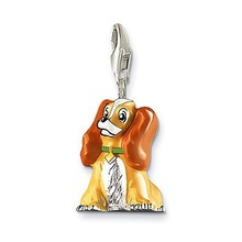 fashion alloy dog shaped necklace dog pendant