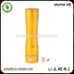 Chrismas promotion! 18650 Mechanical mod fuhattan skyline m6 mod in stock