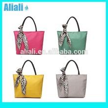 ALOF080 candy colors new model lady handbag shoulder bag woman designer cute tote bag