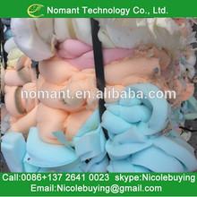 A Grade PU foam scrap vs polyurethane foam recycling