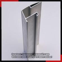 Black anodize extruded aluminum (6063 t5 aluminum extruded profiles, extruded aluminum profiles)