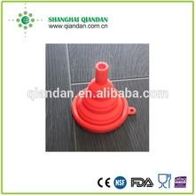 new design silicone folding funnel/foldable funnel