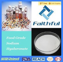 hyaluronic acid food grade / Cosmetic raw materials