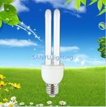 2u halogen cfl bulb!5w energy saving light china supplier