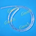 consumibles médicos de silicona tubo de drenaje torácico hidrofílico cateter urinario
